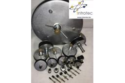 Tampon obturateur mécanique de canalisation - Tampon simple joint - Obturateurs  Mécaniques à Vis