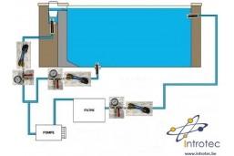 Obturateur canalisation pour test piscine