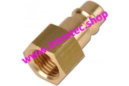 Acoplamiento para acoplamiento rápido estándar - rosca hembra 7,2 -1/4 M/F